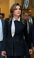 Queen Rania, King & Crown Prince - Economic Forum