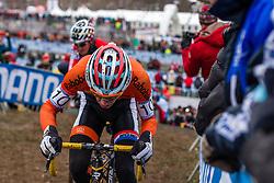 Max Gulickx (NED), Men Juniors, Cyclo-cross World Championship Tabor, Czech Republic, 31 January 2015, Photo by Pim Nijland / PelotonPhotos.com