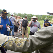 Sesquicentennial Anniversary of the Battle of Gettysburg, Pennsylvania on Wednesday, July 3, 2013.  The Battle of Gettysburg lasted from July 1-3, 1863 resulting in over 50,000 soldiers killed, wounded or missing.  John Boal Photography