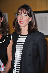 SAMANTHA CAMERON at The Special Yoga Centre's annual art auction held at the 20th Century Theatre, 291 Westbourne Grove, London W11 on 16th May 2011.