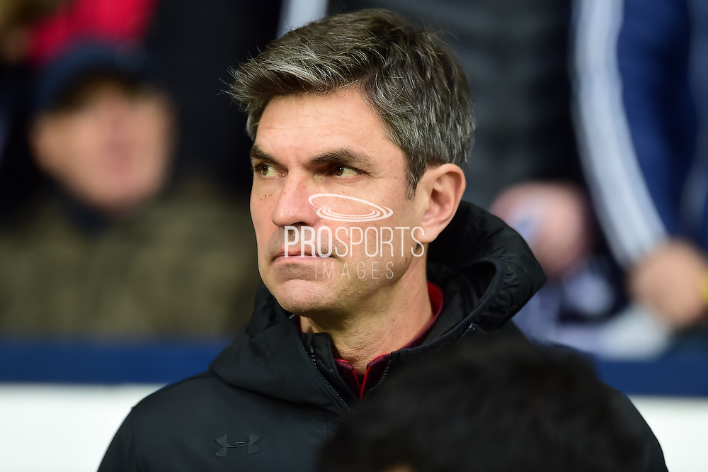 Southampton manager Mauricio Pellegrino during the Premier League match between West Bromwich Albion and Southampton at The Hawthorns, West Bromwich, England on 3 February 2018. Picture by Dennis Goodwin.