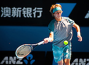 Tennis 2014 - Australian Open - Jr Boys Final - Koslov v Zverev