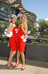 Fashion at the 3rd day - Ladies Day of Roayl Ascot 2006 on 22nd June 2006.<br />