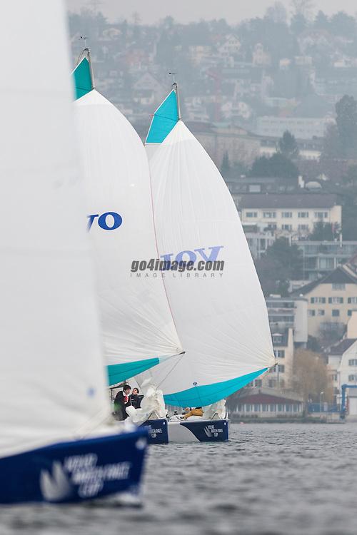 Zurich, April 2013 Volvo Match Race Cup