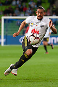 MELBOURNE, VIC - NOVEMBER 09: Wellington Phoenix forward David Williams (11) runs for the ball at the Hyundai A-League Round 4 soccer match between Melbourne City FC and Wellington Phoenix on November 09, 2018 at AAMI Park in Melbourne, Australia. (Photo by Speed Media/Icon Sportswire)