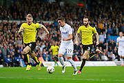 Leeds United's Pablo Hernandez (19) through on goal during the EFL Sky Bet Championship match between Leeds United and Burton Albion at Elland Road, Leeds, England on 29 October 2016. Photo by Richard Holmes.
