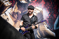 June 15, 2018 - Firenze, Firenze, Italy - The danish heavy metal band Volbeat performing live on stage at the Firenze Rock Festival 2018, opening for Guns and Roses. (Credit Image: © Alessandro Bosio/Pacific Press via ZUMA Wire)