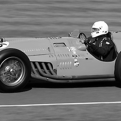 GOODWOOD REVIVAL.....Klaus Lehr in a 1948 Talbot Lago Type 26C in the official practice for the Goodwood Trophy ..(c) STEPHEN LAWSON | SportPix.org.uk