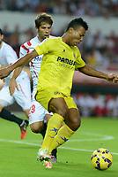Cillarreal Uche during the match between Sevilla FC and Villarreal day 9 spanish  BBVA League 2014-2015 day 5, played at Sanchez Pizjuan stadium in Seville, Spain. (PHOTO: CARLOS BOUZA / BOUZA PRESS / ALTER PHOTOS)