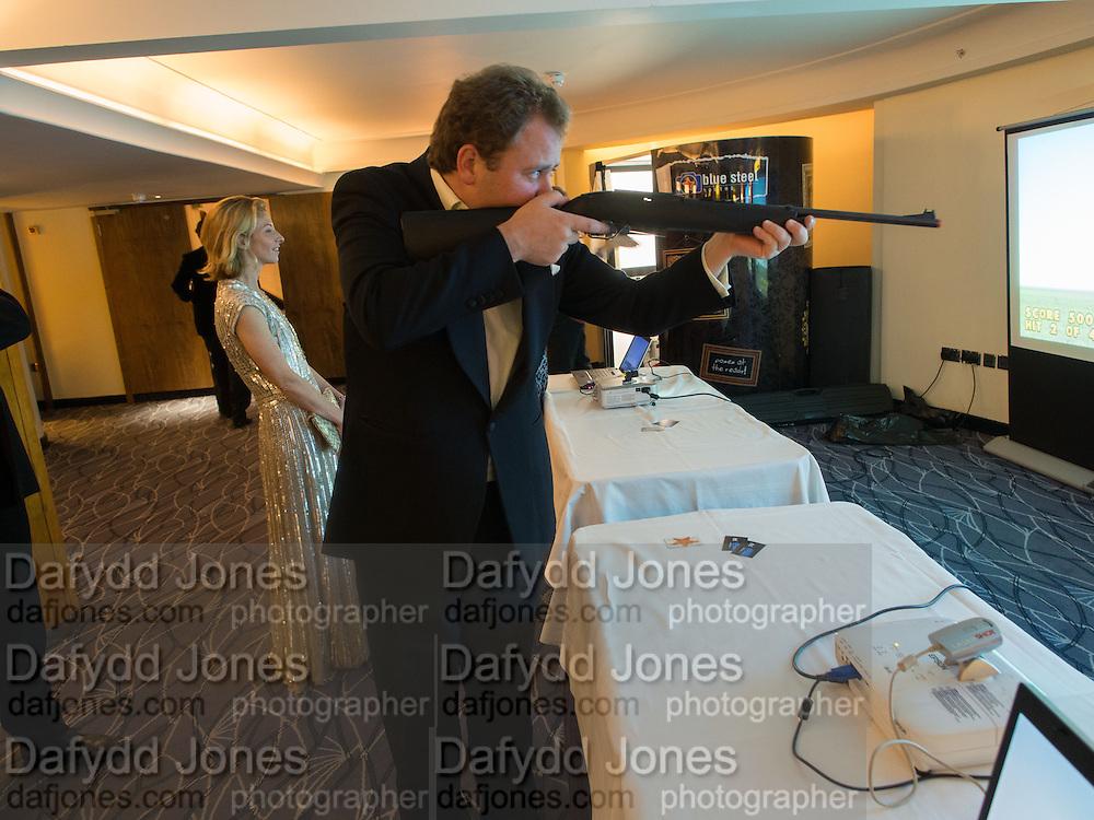 THE HON MIKEY MAYSHAM, Game & Wildlife Conservation Trust's Ball. Savoy Hotel. London. 6 November 2013.