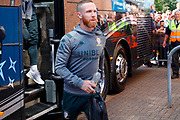 Leeds United midfielder Adam Forshaw (4) arrives during the EFL Sky Bet Championship match between Wigan Athletic and Leeds United at the DW Stadium, Wigan, England on 17 August 2019.