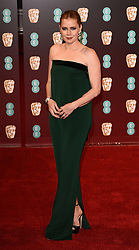 EE British Acadamy Film Awards (BAFTA's) at The Royal Albert Hall on Sunday 12 February 2017