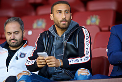 BURNLEY, ENGLAND - Thursday, August 16, 2018: Everton's Cenk Tosun before the UEFA Europa League Third Qualifying Round 2nd Leg match between Burnley FC and İstanbul Başakşehir at Turf Moor. (Pic by David Rawcliffe/Propaganda)