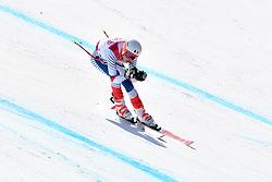 BAUCHET Arthur LW3 FRA competing in ParaSkiAlpin, Para Alpine Skiing, Super G at PyeongChang2018 Winter Paralympic Games, South Korea.