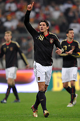 03.03.2010, Allianz Arena Muenchen, Muenchen, GER,  Laenderspiel Deutschland ( GER ) - Argentinien ( ARG ) 0 - 1. Im Bild Mario Gomez ( GER /  Bayern #18 ). EXPA Pictures © 2010, PhotoCredit: EXPA/ nph/  Kurth / for Slovenia SPORTIDA PHOTO AGENCY.