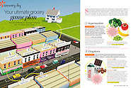 Commission for All You Magazine, through ImageBrief. Issue 8. August 23rd 2013. Toy Town USA Illustrations. All Rights Reserved Time Inc.