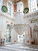 Interior of Ortakoy Mosque