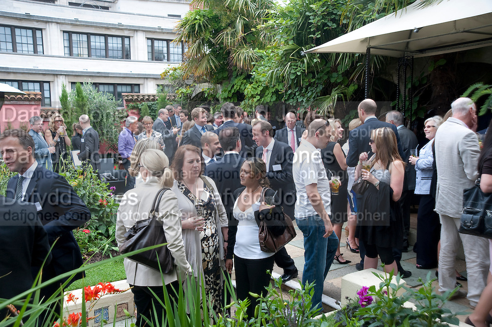 Archant Summer party. Kensington Roof Gardens. London. 7 July 2010. -DO NOT ARCHIVE-© Copyright Photograph by Dafydd Jones. 248 Clapham Rd. London SW9 0PZ. Tel 0207 820 0771. www.dafjones.com.