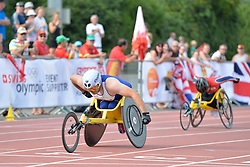 03/08/2017; Agnew, Jack, T54, GBR, Wakiyama, Riku, JPN at 2017 World Para Athletics Junior Championships, Nottwil, Switzerland
