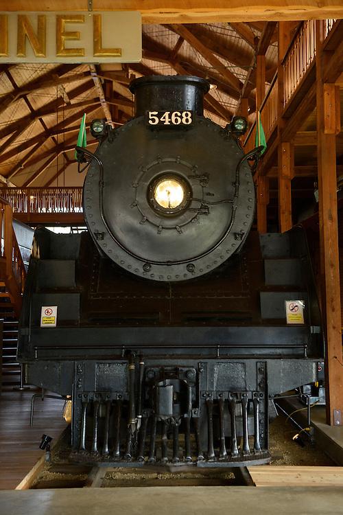 Canada, British Columbia,Railway Museum