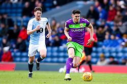 Callum O'Dowda of Bristol City goes past Richard Smallwood of Blackburn Rovers - Mandatory by-line: Robbie Stephenson/JMP - 09/02/2019 - FOOTBALL - Ewood Park - Blackburn, England - Blackburn Rovers v Bristol City - Sky Bet Championship