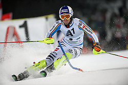 26.01.2016, Planai, Schladming, AUT, FIS Weltcup Ski Alpin, Schladming, Slalom, Herren, 1. Durchgang, im Bild Fritz Dopfer (GER) // Fritz Dopfer of Germany competes during his 1st run of men's Slalom Race of Schladming FIS Ski Alpine World Cup at the Planai in Schladming, Austria on 2016/01/26. EXPA Pictures © 2016, PhotoCredit: EXPA/ Erich Spiess
