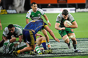 Nick Crosswell in action for Manawatu in the ITM Cup Rugby Match. Otago v Manawatu at Forsyth Barr Stadium, Dunedin, New Zealand. Friday 10 October 2014. New Zealand. Photo: Richard Hood/photosport.co.nz
