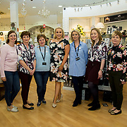 08.09. 2017.                             <br /> Launch of  Limerick Racecourse and Keanes Most Stylish Lady. <br /> Pictured at Carrig Donn, The Crescent Shopping Centre were left to right, Kristen McCormack, Cora Hammond, Norma Kelly, Sinead O'Brien, Sinead's Curvy Style, Annette O'Sullivan, Siobhan Hickey and Yvonne Ryan. Picture: Alan Place