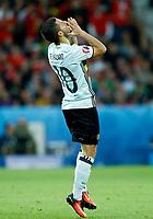 Eden Hazard (Belgium) delusion. delusione<br /> Lille 01-07-2016 Stade Pierre Mauroy Football Euro2016 Wales - Belgium / Galles - Belgio <br /> Quarter-finals. Foto Matteo Ciambelli / Insidefoto