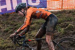 BAKKER Manon (NED) during Women Under 23 race, 2020 UCI Cyclo-cross Worlds Dübendorf, Switzerland, 2 February 2020. Photo by Pim Nijland / Peloton Photos | All photos usage must carry mandatory copyright credit (Peloton Photos | Pim Nijland)