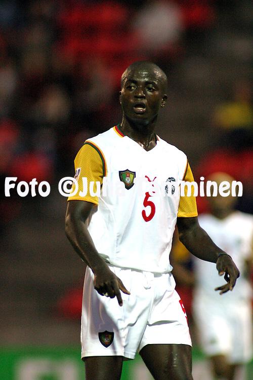 20.08.2003, Ratina Stadium, Tampere, Finland.FIFA U-17 World Championship - Finland 2003.Match 22: Group C - Portugal v Cameroon.Dany Nounkeu - Cameroon.©Juha Tamminen