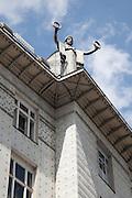 Aluminium Statue. Post Office Savings Bank, Vienna, Austria 1904-12 Architect: Otto Wagner
