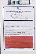 Sylt, Germany. Kampen. La Grande Plage. If you find a seal...