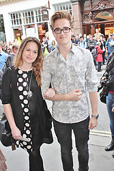 © London News Pictures. 18/06/2013. London, UK. Giovanna Fletcher & Tom Fletcher at The Cripple of Inishmaan - Press Night. Photo credit: Brett D. Cove/LNP