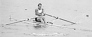Nottingham. United Kingdom. <br /> GBR M1X. Steve REDGRAVE.<br /> Nottingham International Regatta, National Water Sport Centre, Holme Pierrepont. England<br /> <br /> 31.05.1986 to 01.06.1986<br /> <br /> [Mandatory Credit: Peter SPURRIER/Intersport images] 1986 Nottingham International Regatta, Nottingham. UK