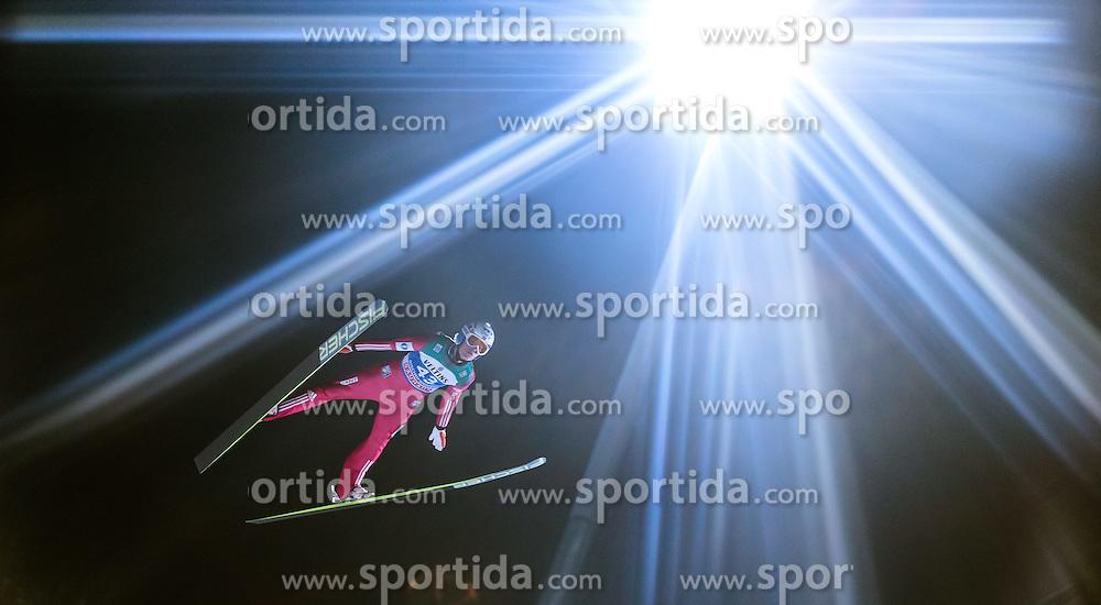 05.01.2015, Paul Ausserleitner Schanze, Bischofshofen, AUT, FIS Ski Sprung Weltcup, 63. Vierschanzentournee, Qualifikation, im Bild Daniel Andre Tande (NOR) // during Qualification of 63rd Four Hills Tournament of FIS Ski Jumping World Cup at the Paul Ausserleitner Schanze, Bischofshofen, Austria on 2015/01/05. EXPA Pictures © 2015, PhotoCredit: EXPA/ JFK