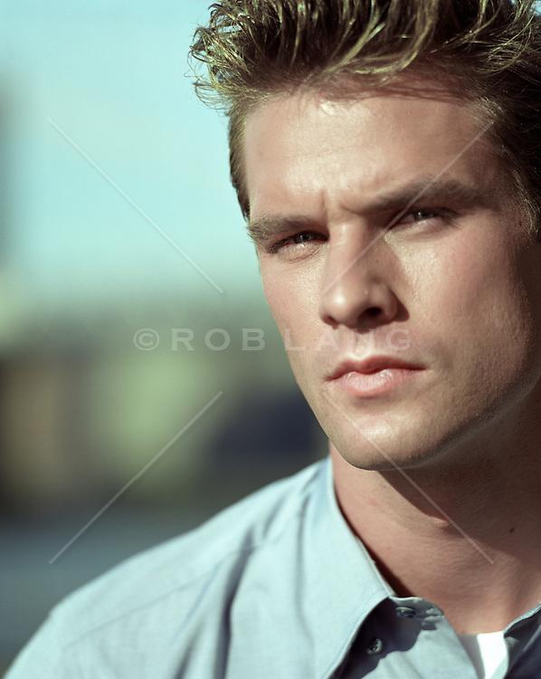 portrait of a twenty something year old man
