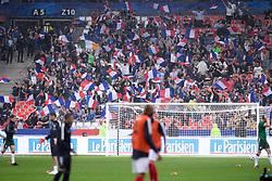 May 28, 2018 - Saint Denis, France - ILLUSTRATION - SUPPORTERS - DRAPEAUX (Credit Image: © Panoramic via ZUMA Press)