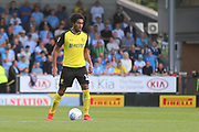 Burton Albion defender Richard Nartey (18) during the EFL Sky Bet League 1 match between Burton Albion and Coventry City at the Pirelli Stadium, Burton upon Trent, England on 14 September 2019.