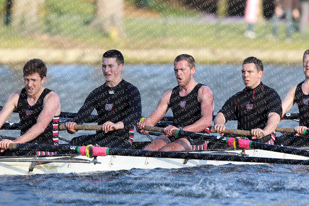 2012.02.25 Reading University Head 2012. The River Thames. Division 2. Thames Rowing Club Nov 8+