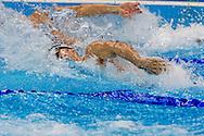 RIO DE JANEIRO - Sebastiaan Verschuren tijdens de halve finale van de 100 meter vrij in de Olympic Aquatics Arena tijdens de Olympische Spelen. ANP ROBIN UTRECHT