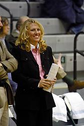 18 December 2004<br /> <br /> Titan Head Coach Mia Smith.<br /> <br /> Illinois Wesleyan University Titans V Webster University Gorlocks.  NCAA Division III Women's Basketball.  Shirk Center, Illinois Wesleyan University, Bloomington IL
