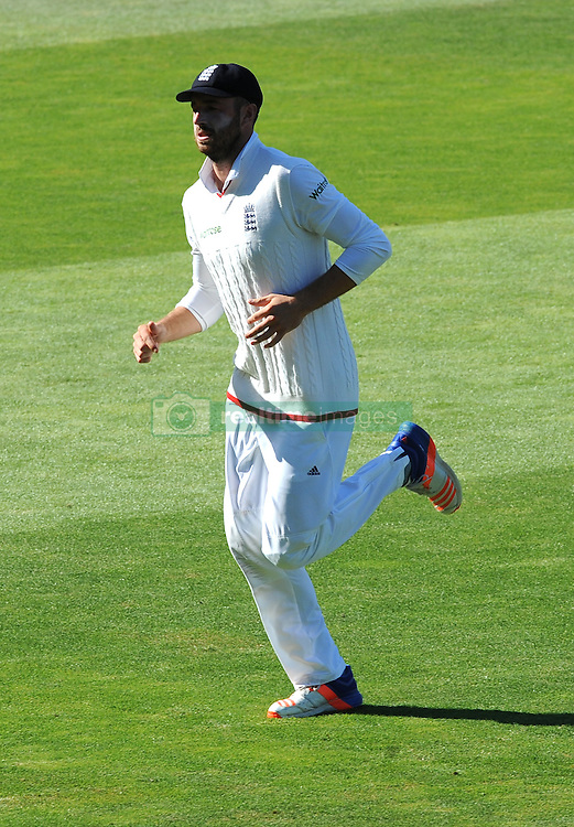 England's James Vince returns to the pavilion after an injury during day five of the 3rd Investec Test Match at Edgbaston, Birmingham.
