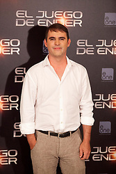 03.10.2013, Villa Magna Hotel, Madrid, ESP, Enders Game Photocall, im Bild Producer poses // during a photocall for the film Ender's Game, Villa Magna Hotel, Madrid, Spain on 2013/10/03. EXPA Pictures © 2013, PhotoCredit: EXPA/ Alterphotos/ Ricky Blanco<br /> <br /> ***** ATTENTION - OUT OF ESP and SUI *****