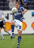 Fotball Tippeligaen 22.07.07, Rosenborg ( RBK ) - Viking<br /> Nikolai Stockholm, Viking<br /> Foto: Carl-Erik Eriksson, Digitalsport