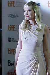 Actress KIRSTEN DUNST at the the Red Carpet gala premiere for Walter Salles new film 'On the Road', at the Ryerson Theatre on opening night of the 2012 Toronto International Film Festival2012 Toronto International Film Festival, Thursday September 6, 2012. Photo By Christopher Drost/i-Images