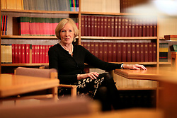 UK ENGLAND OXFORD 19MAR14 - The Warden <br /> St Antony's College, historian Margaret MacMillan of Canada poses for a photo at the College in Oxford, England.<br /> <br /> jre/Photo by Jiri Rezac<br /> <br /> © Jiri Rezac 2014