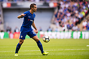 Chelsea (28) César Azpilicueta during the FA Community Shield match between Arsenal and Chelsea at Wembley Stadium, London, England on 6 August 2017. Photo by Sebastian Frej.