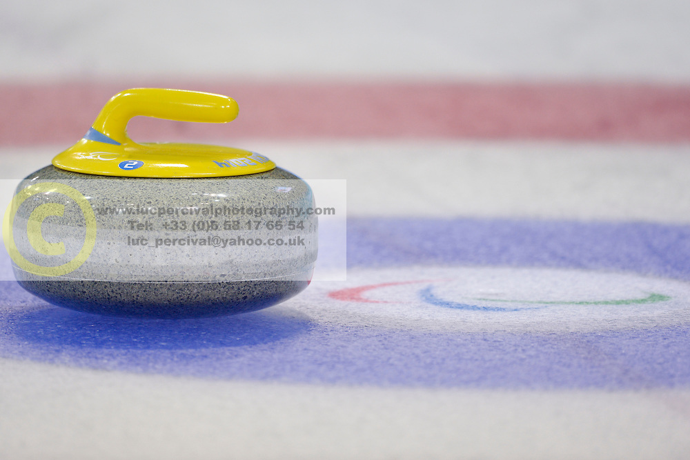 Wheelchair Curling Semi Finals at the 2014 Sochi Winter Paralympic Games, Russia