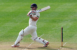 Lancashire's Steven Croft pulls the ball - Photo mandatory by-line: Harry Trump/JMP - Mobile: 07966 386802 - 08/04/15 - SPORT - CRICKET - Pre Season - Somerset v Lancashire - Day 2 - The County Ground, Taunton, England.